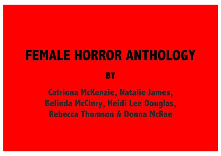 FEMALE HORROR ANTHOLOGY