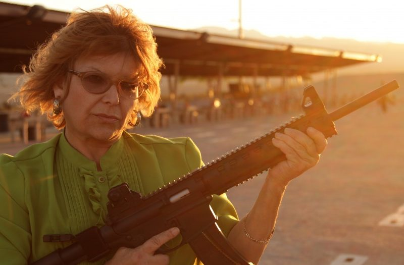 MOTHER WITH A GUN
